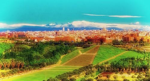 madrid parque ciudad parquelinealdelmanzanares