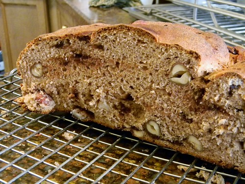 Chocolate Hazelnut Semi-Sourdough Boule