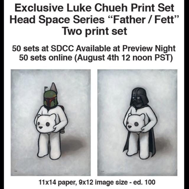Luke Chueh Headspace Print set