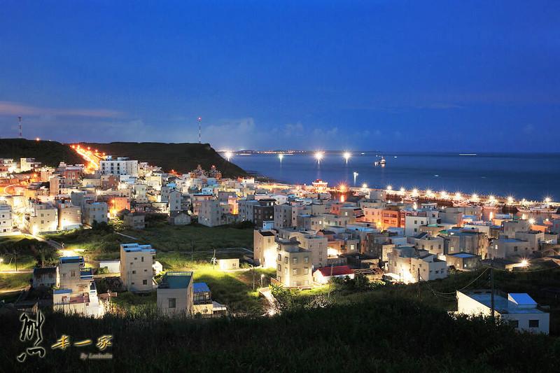 [澎湖私房景點] 西嶼外垵漁港碼頭~澎湖小香港就是這裡啦|異國風浪漫夜景