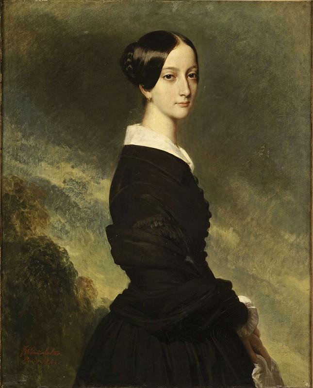 Franz Xaver Winterhalter - Princess Francisca of Brazil (1844)