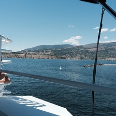 From a floatplane tour to a boat tour on Okanagan Lake #greatwesternadventure2014