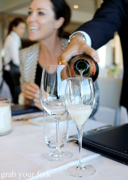 "NV Taittinger Brut ""Reserve"" champagne at Jonah's, Whale Beach"