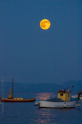 luna rossa ad Ischia - luglio 2014