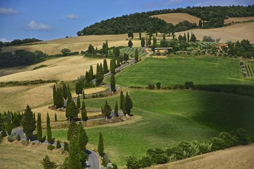Monticchiello, Val d'Orcia, Tuscany