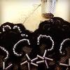 Bordando cristales para un tocado de noche #canotierhats #embroidery #bordado #encaje #lace #handmade #hechoamano