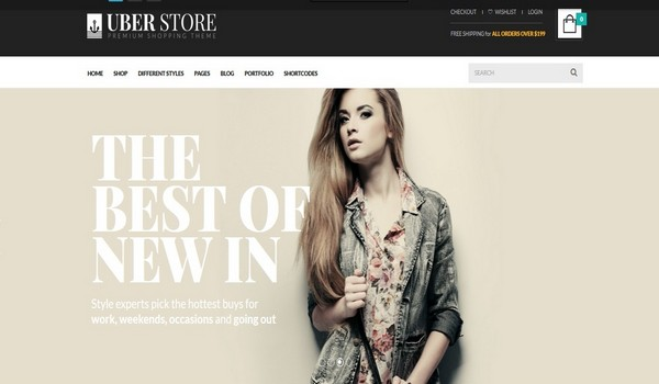 Woocommerce themes for WordPress