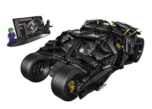 LEGO Batman Tumbler (76023) Complete