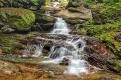Crab Orchard Falls - accessed in Valle Crucis, NC from the Valle Crucis Conference Center