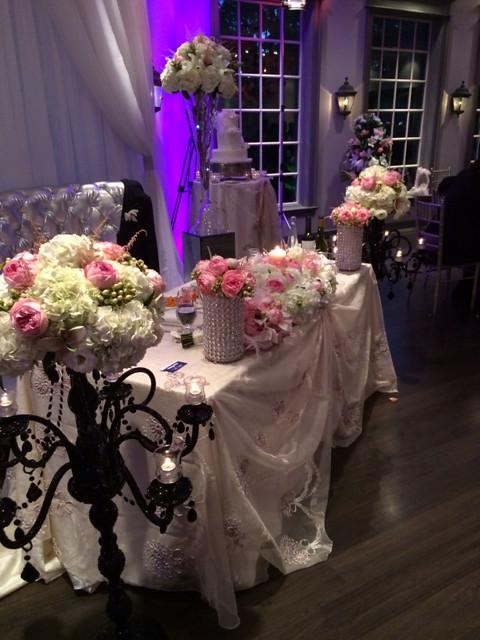 Wedding ceremony by Farah florist