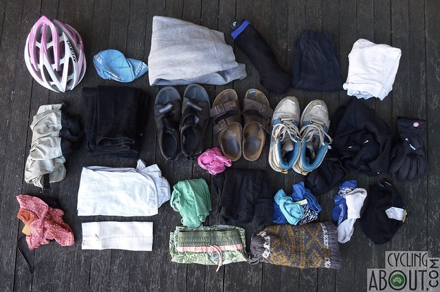 my complete bicycle touring gear packing list cyclingabout. Black Bedroom Furniture Sets. Home Design Ideas