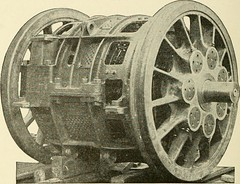 "Image from page 409 of ""Cyclopedia of applied electricity : a general reference work on direct-current generators and motors, storage batteries, electrochemistry, welding, electric wiring, meters, electric lighting, electric railways, power stations, swit"