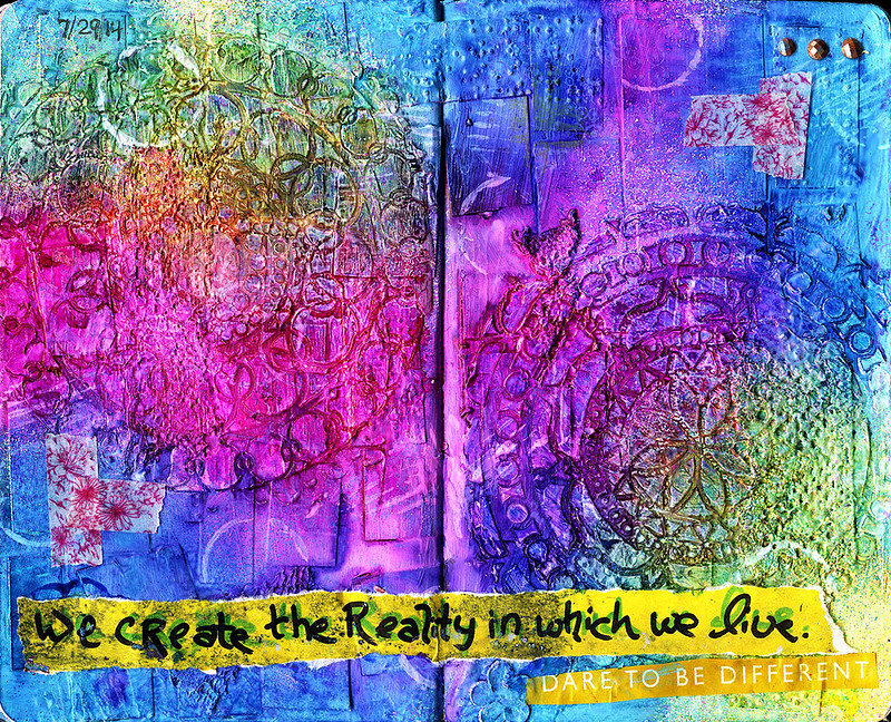 art journal - Reality