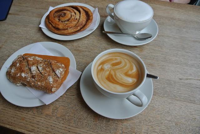 Breakfast at Kaffebrenneriet