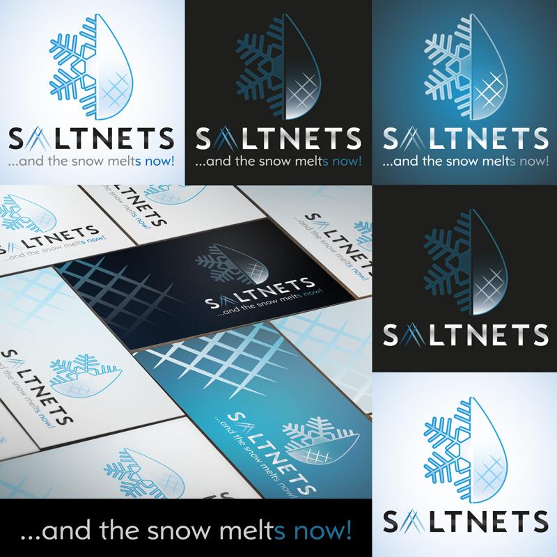 SALTNETS Ltd. logóterv