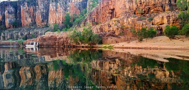 Katherine Gorge reflections