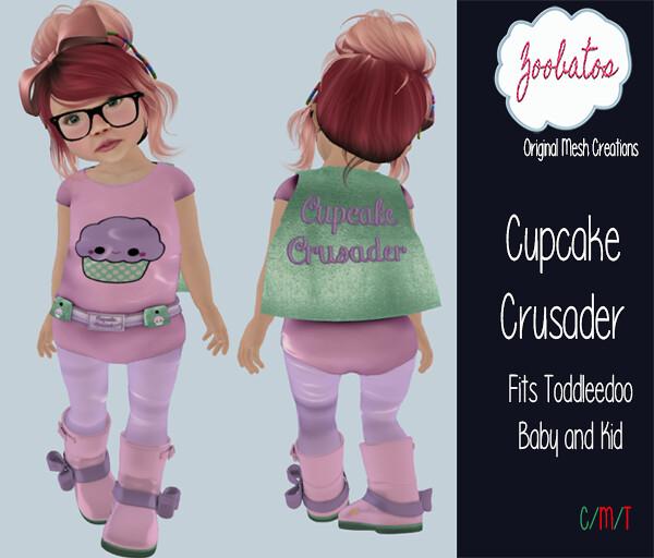 Cupcake Crusader - SecondLifeHub.com