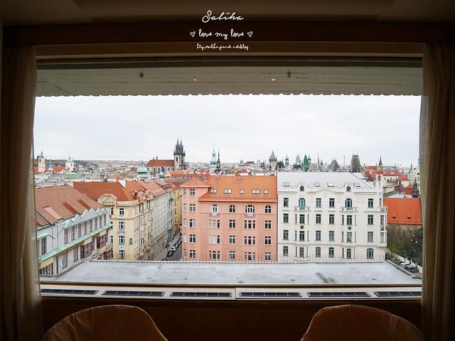 布拉格夜景景觀餐廳推薦洲際酒店晚餐 (9)