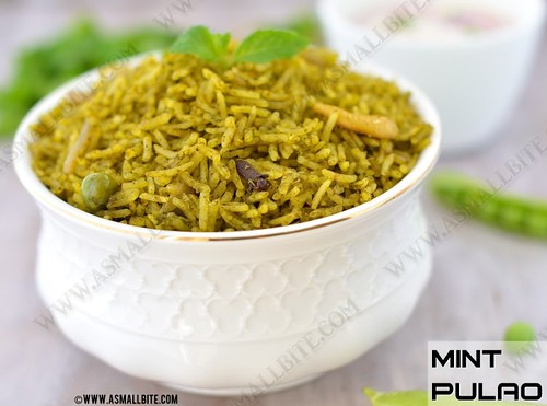 Mint-Rice-Recipe