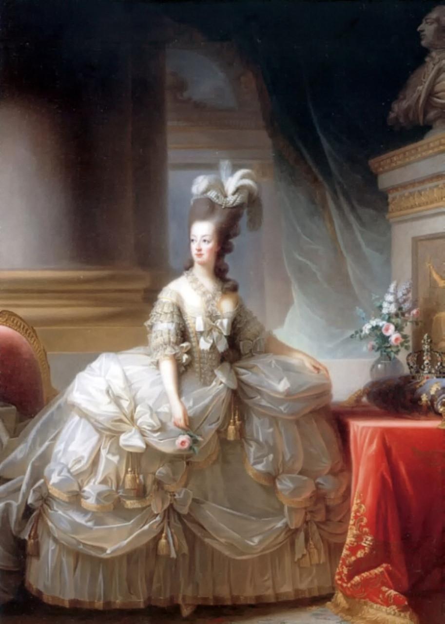 Marie Antoinette by Élisabeth Vigée-Lebrun, 1778