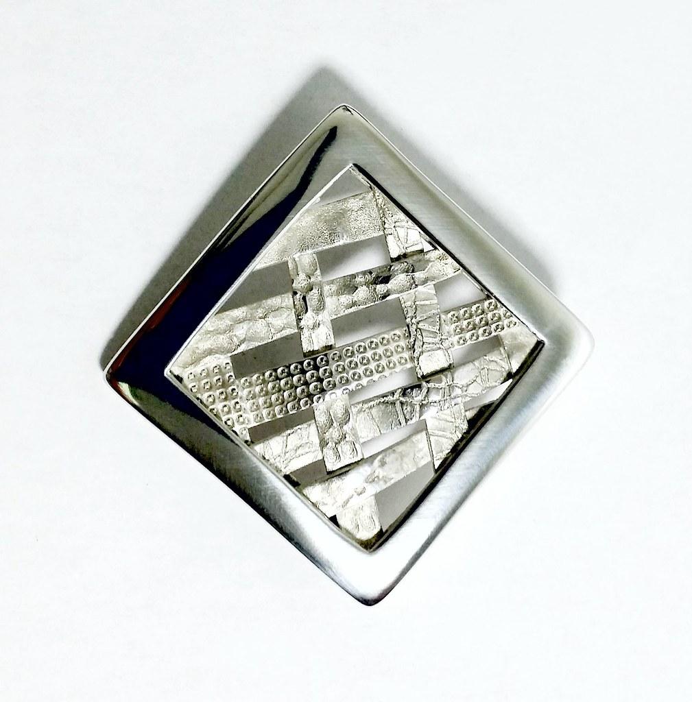 PMC fine Silver pendant