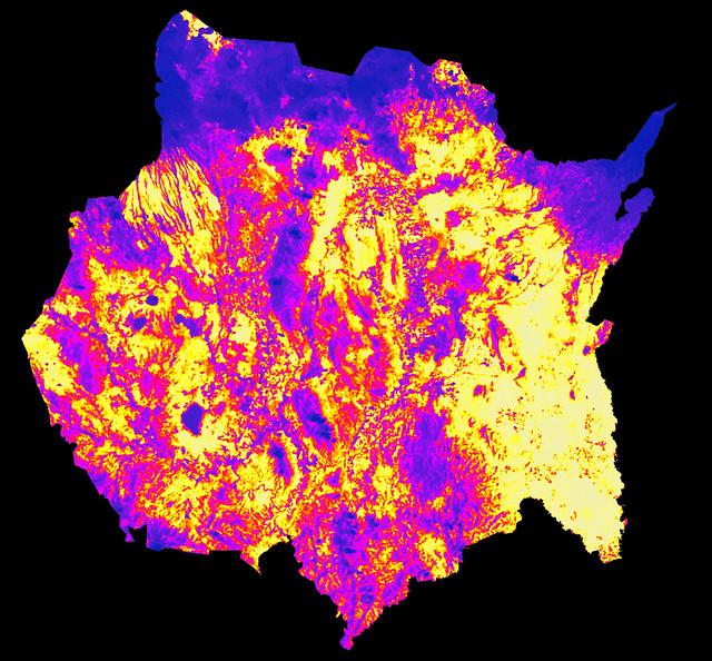 Islas de calor (imágenes térmicas)