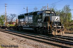 NS 4637 | EMD GP59 | NS Forrest Yard