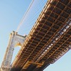 The complicated underbelly of an iconic landmark. #brooklynbridgepark