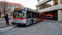 WMATA Metrobus 2006 New Flyer D40LFR #6164