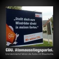 CDU. Die Atomausstiegspartei.
