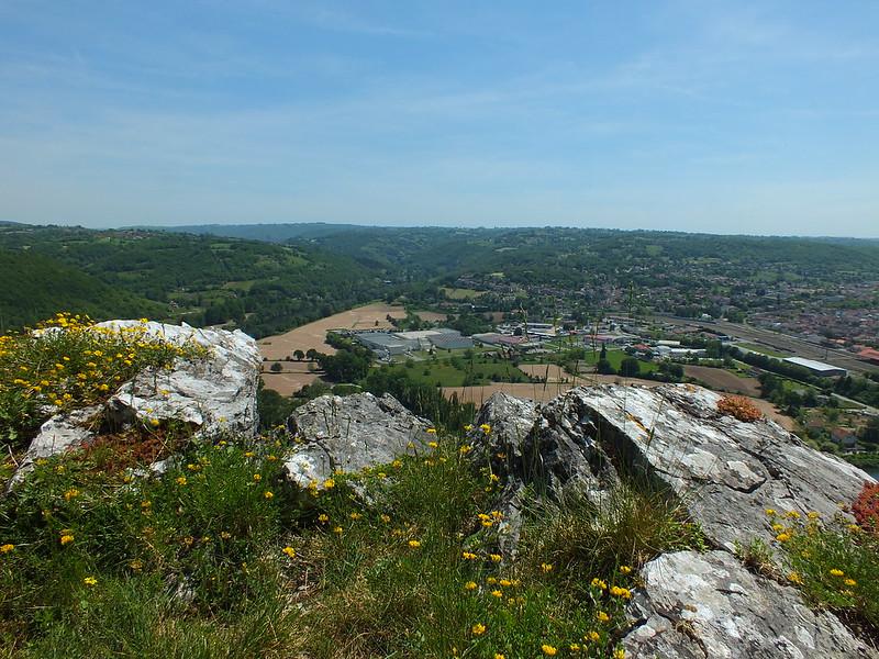 Capdenac - Point de vue du Calvaire (Les Carniers et Les Courons)