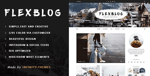 Flexblog WordPress Theme free download