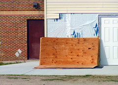 Rectangular Composition with Plywood