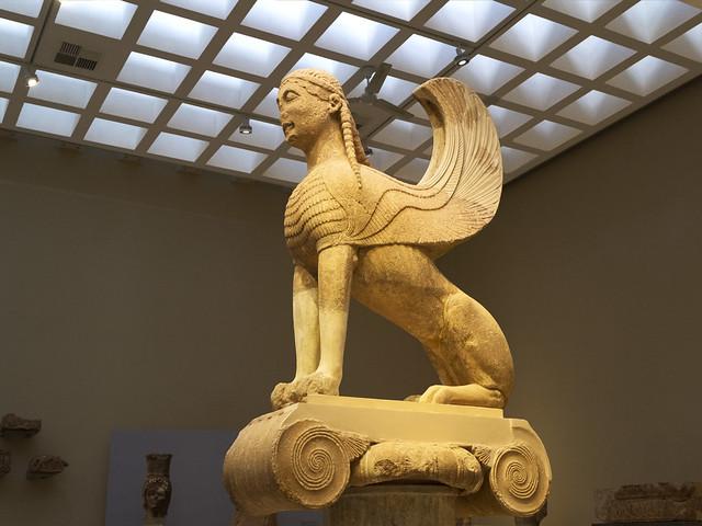 Delphi, The Naxian Sphinx - II
