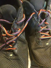 Today was another day for #rainbowlaces #R4K