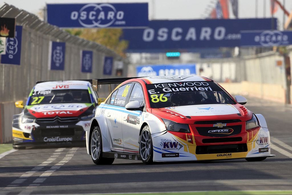86 GUERRIERI Esteban (ARG) Chevrolet RML Cruze TC1 Campos Racing during the 2017 FIA WTCC World Touring Car Race of Morocco at Marrakech, from April 7 to 9 - Photo Paulo Maria / DPPI