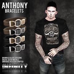 !NFINITY Anthony Bracelets @ MOH9