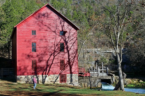 johnalley john alley ozark national scenic riverways spring shannon county missouri old red mill mammoth barksdale