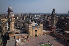 Masjid Wazir Khan, a bird's-eye view