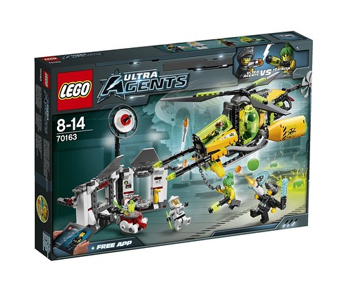 LEGO Ultra Agents 70163 Front