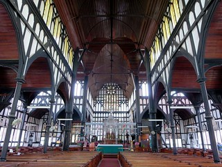 Image of  St. Georges Cathedral. guyana georgetown