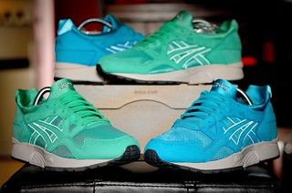 Asics gel lyte 5 X Ronnie Fieg Mints and Coves
