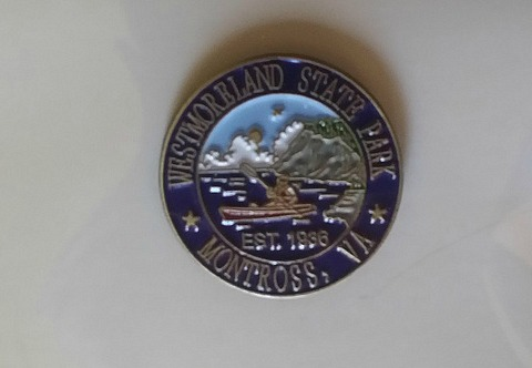 Pins cost less than $5 and most state park gift shops carry them