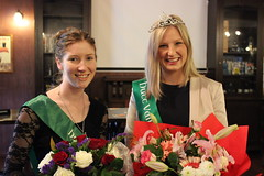 Elizabeth Whelan, our 2013 Rose with Lisa Bazalo, HVIS Rose of Tralee, 2014