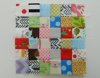 "tiny patchwork {1"" squares}"