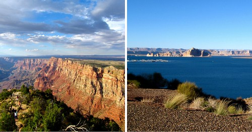 Grand Canyon and Glen Canyon