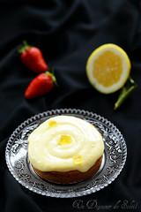 Tarte citron frangipane