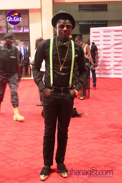 Pop Skinny at Ghana Music Awards 2014