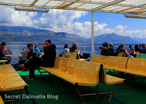 Ferry back to Split