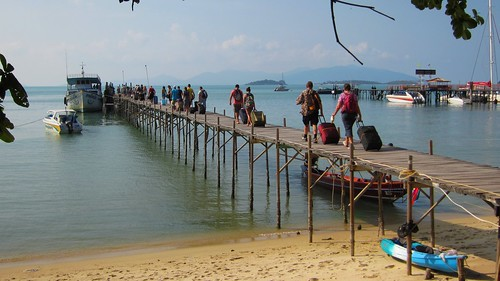 Koh Samui Bigbuddha Pier (Haadrin Queen) サムイ島ビッグブッダピア